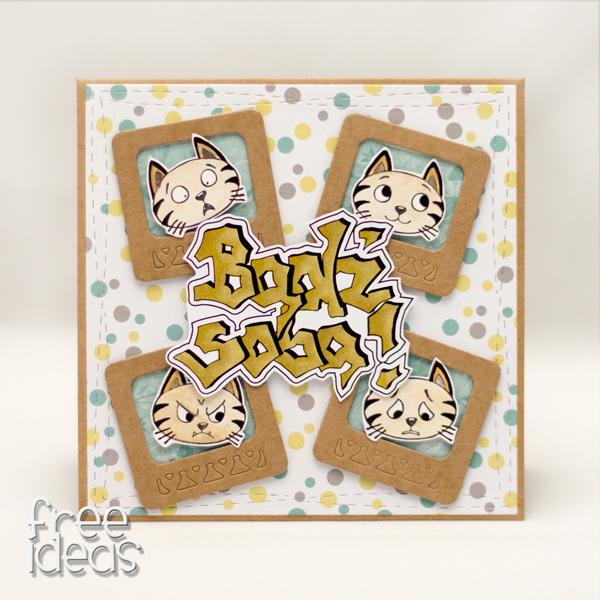Kartka z kotami