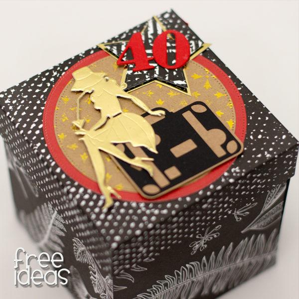 Exploding Box urodzinowy