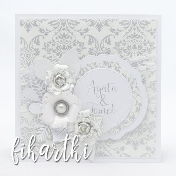 Spersonalizowana kartka na ślub