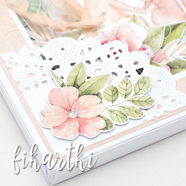 kartka ślubna z liskami