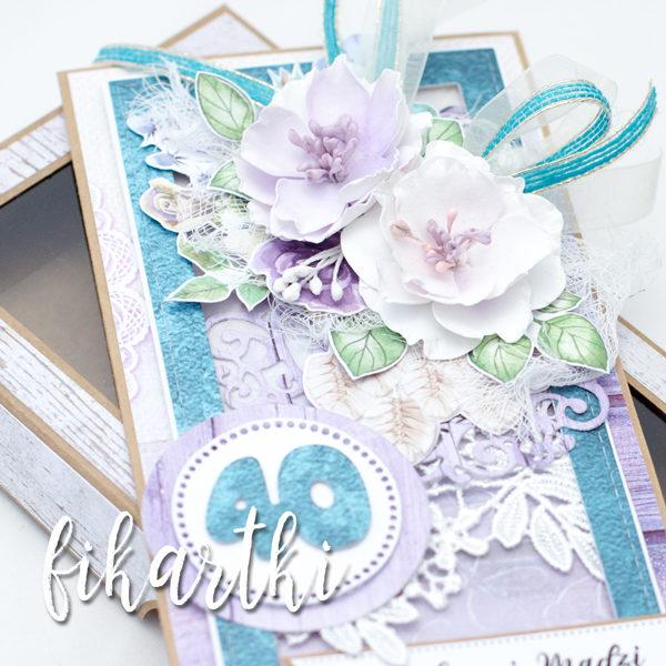 Kartka urodzinowa w pudełku